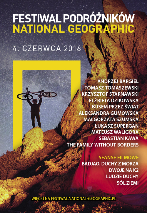 Festiwal Podróżników _plakat