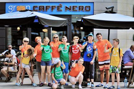 Green Caffè Nero zaprosiło nas na soki i ciacha!