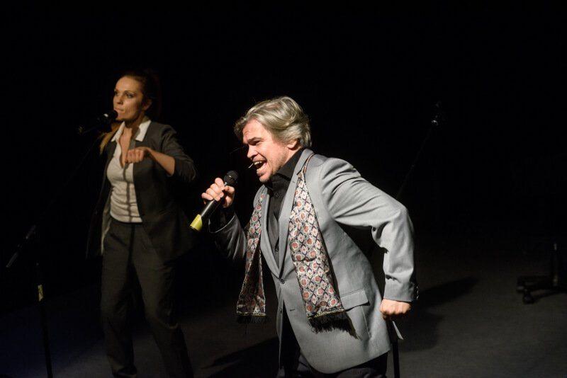(MASKA)RADA GMINY w Teatrze Młyn - fot - (MASKA)RADA GMINY w Teatrze Młyn