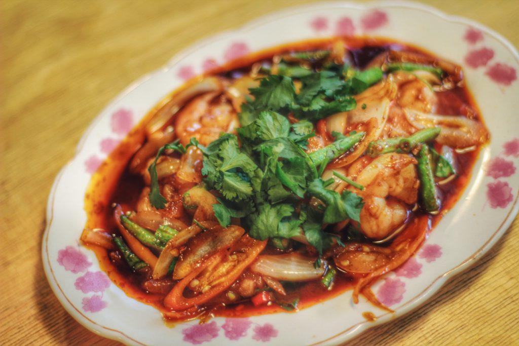 Bangkok soi ceny jedzenia