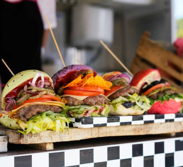 żarcie na kółkach burgery